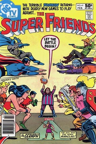 The Super Friends #41. Cover by Ramona Fradon.