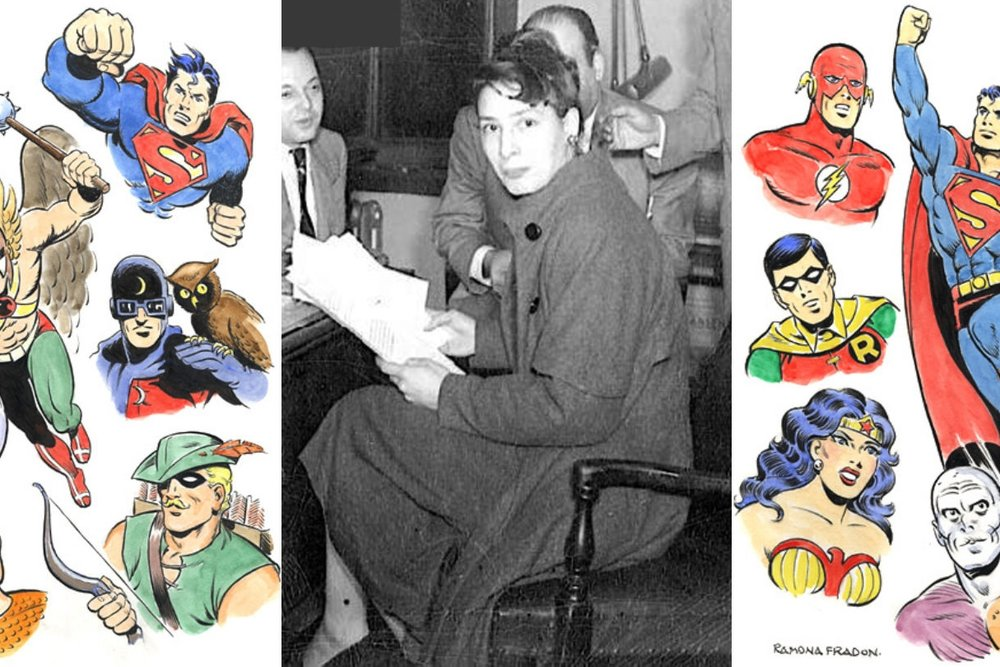 An Interview With Ramona Fradon - The Woman Who Co-Created Metamorpho & Aqualad   Written by Bryan Stroud