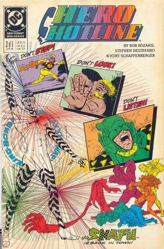Hero Hotline #1, written by Bob Rozakis.