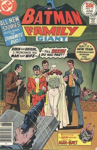 Batman Family #11, written by Bob Rozakis.