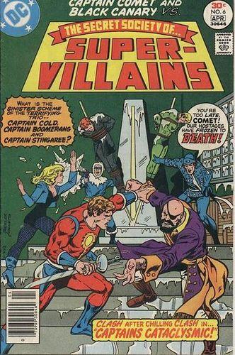 Secret Society of Super Villains #6, written by Bob Rozakis.