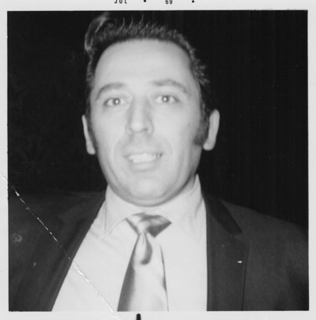 Dick Giordano in 1969. Photo by Gary Groth.