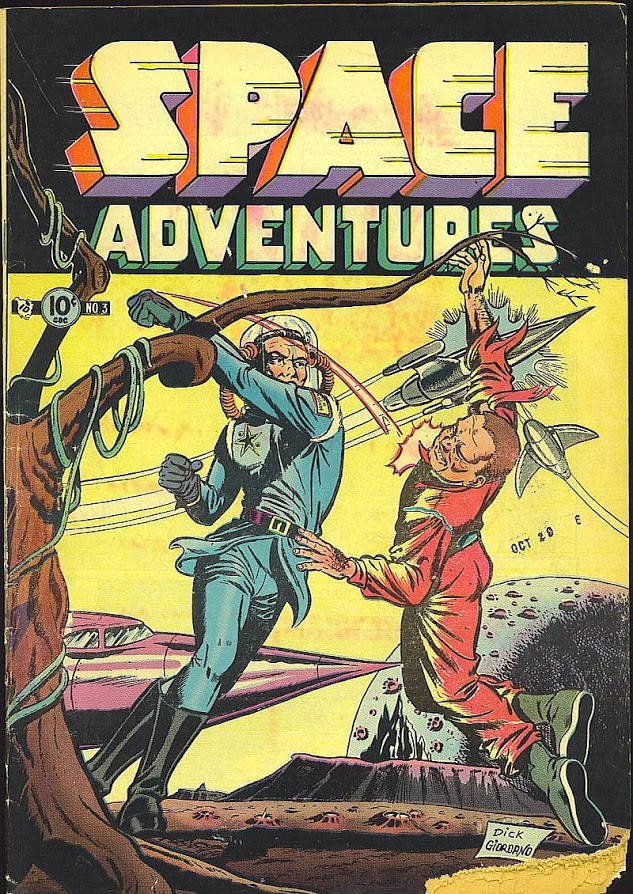 Space Adventures #3, cover by Dick Giordano.