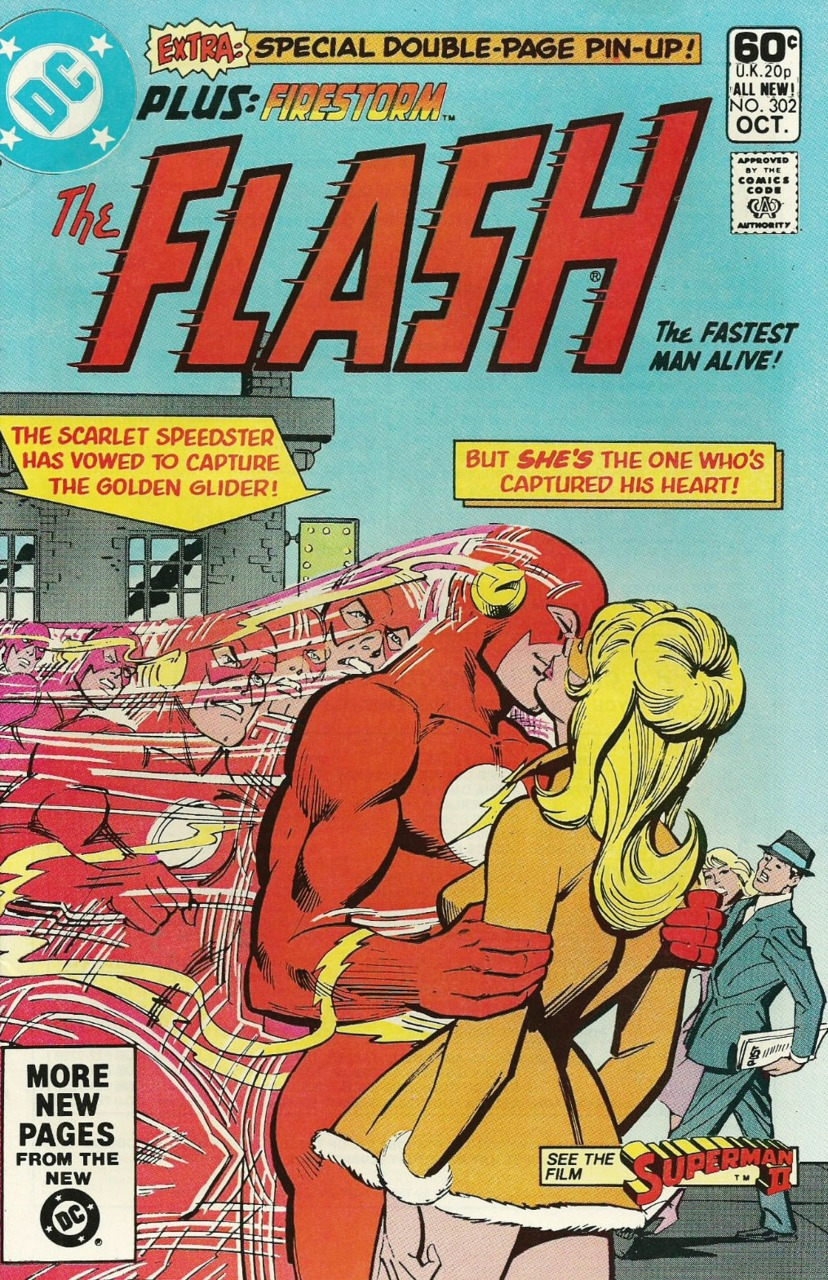 Flash #302, cover by Carmine Infantino & Dick Giordano.