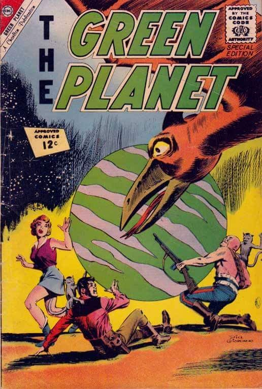 The Green Planet (1962) #1, cover by Dick Giordano.