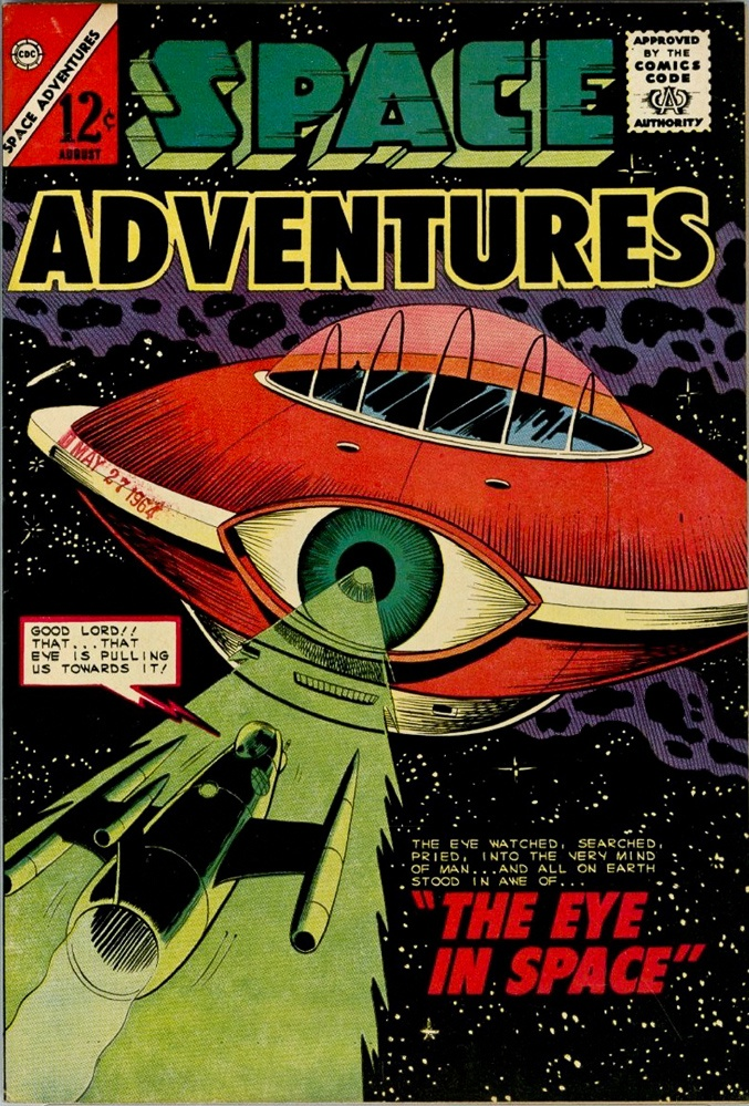 Space Adventures #58, cover by Dick Giordano.