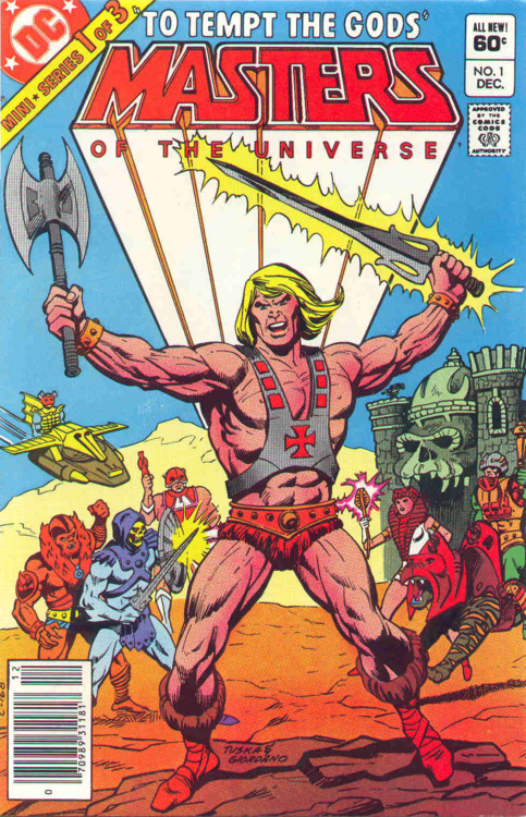 Masters of the Universe #1, cover by George Tuska & Dick Giordano.