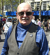 Denny O'Neil at the 2009 Brooklyn Book Festival.
