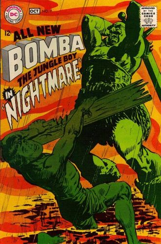 Bomba the Jungle Boy (1967) #7, written by Denny O'Neil.
