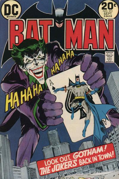Batman (1940) #251, written by Denny O'Neil.