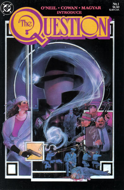 The Question (1987) #1, written by Denny O'Neil.