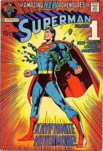 Superman (1939) #233, written by Denny O'Neil.