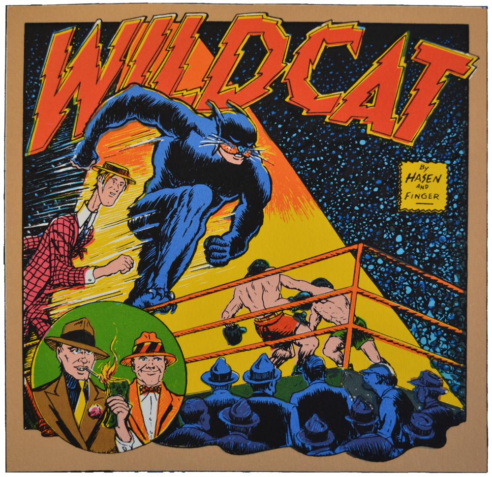 Wildcat, Created by Irwin Hasen & Bill Finger.