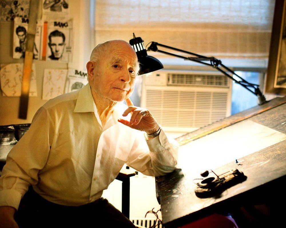 Irwin Hasen in 2011.