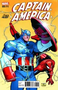 Captain America #695 Ace Comic Con Arizona Exclusive, cover by Billy Martin.