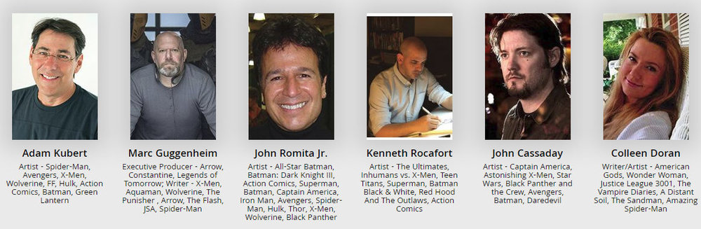 Many of the creators invited have done amazing work for Marvel, which was the theme of the convention.