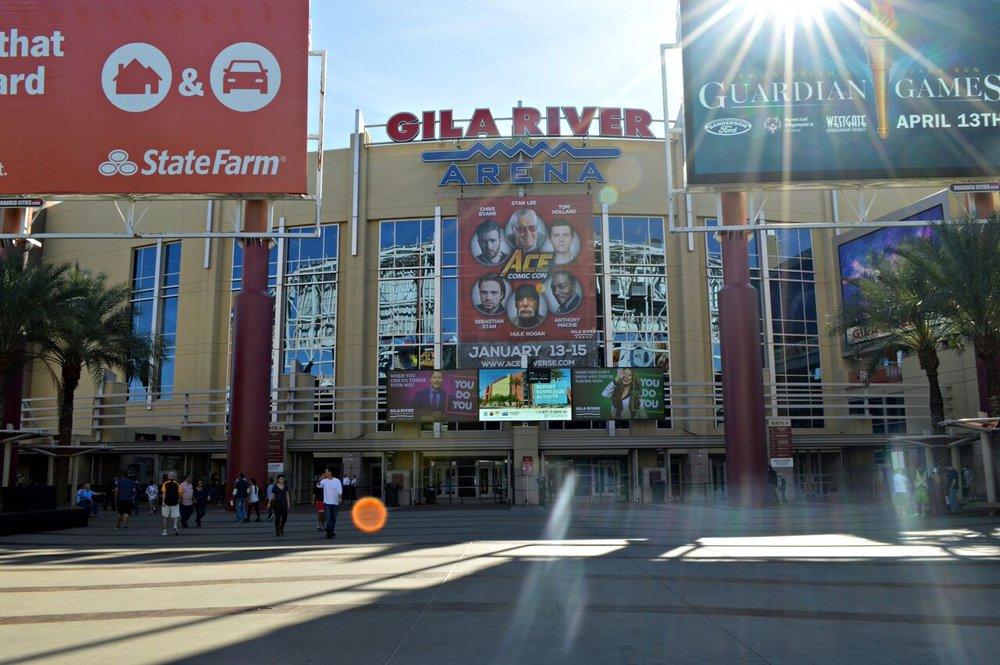 Gila River Arena in Glendale, AZ.