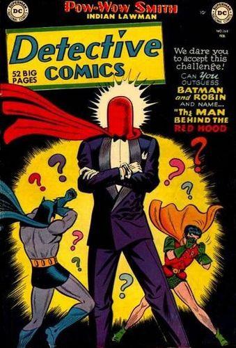 Detective Comics (1937) #168, cover by Lew Sayre Schwartz.