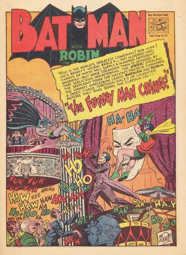 Batman (1940) #52 interior, art by Lew Sayre Schwartz.