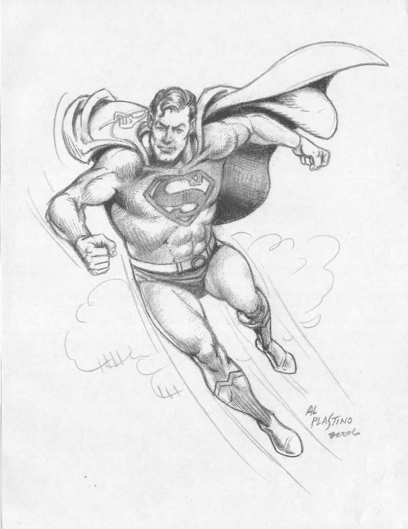 Superman by Al Plastino - 2006