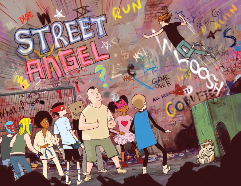 FCBD 2018 Street Angel's Dog - Preview  3.