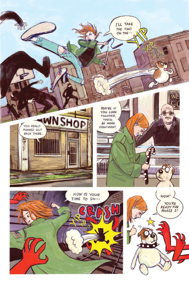 FCBD 2018 Street Angel's Dog - Preview  6.