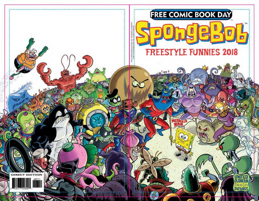 FCBD 2018 SpongeBob Freestyle Funnies - Preview  1.