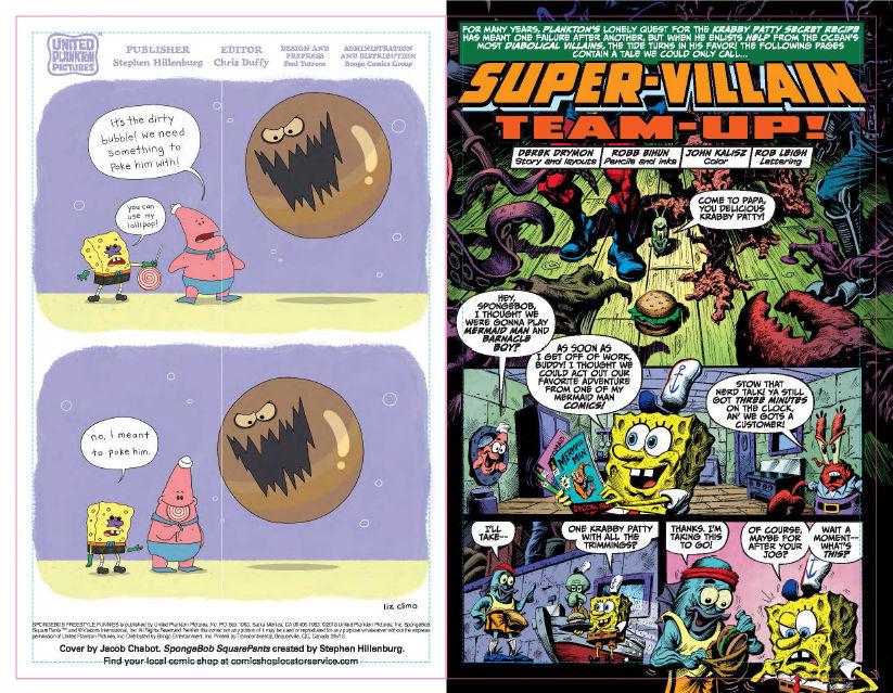 FCBD 2018 SpongeBob Freestyle Funnies - Preview  2.