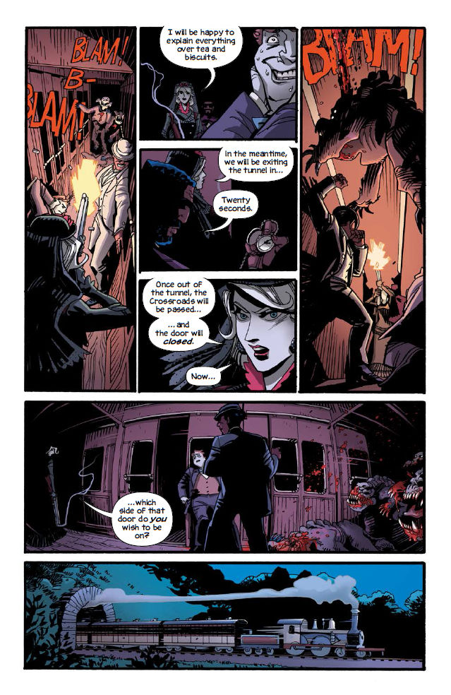 FCBD 2018 Shadow Roads #1 - Preview  3.