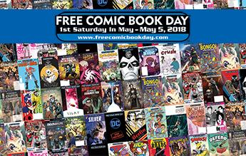 free comic book day 2018 full list of titles with covers and