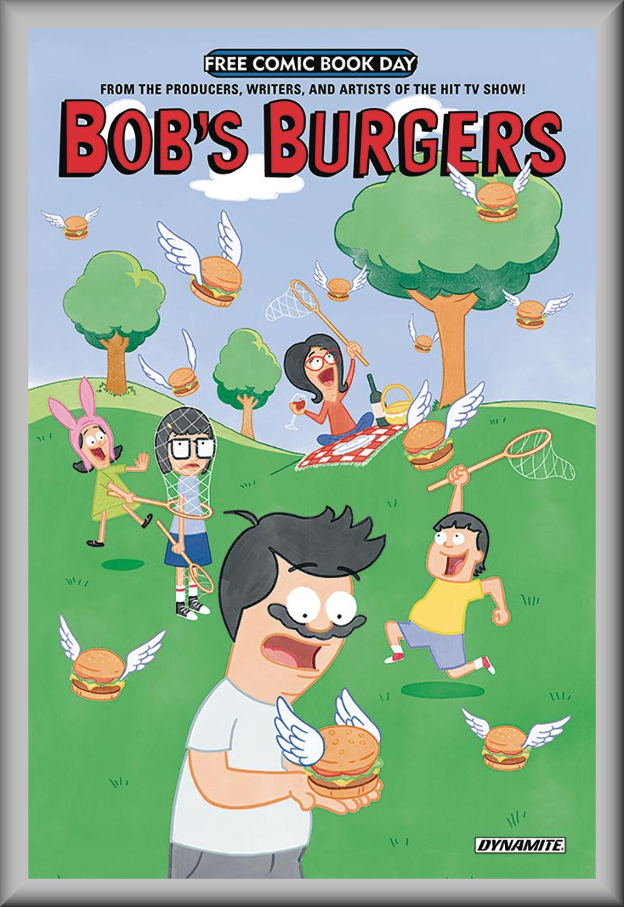 FCBD 2018 Bob's Burgers (Dynamite)