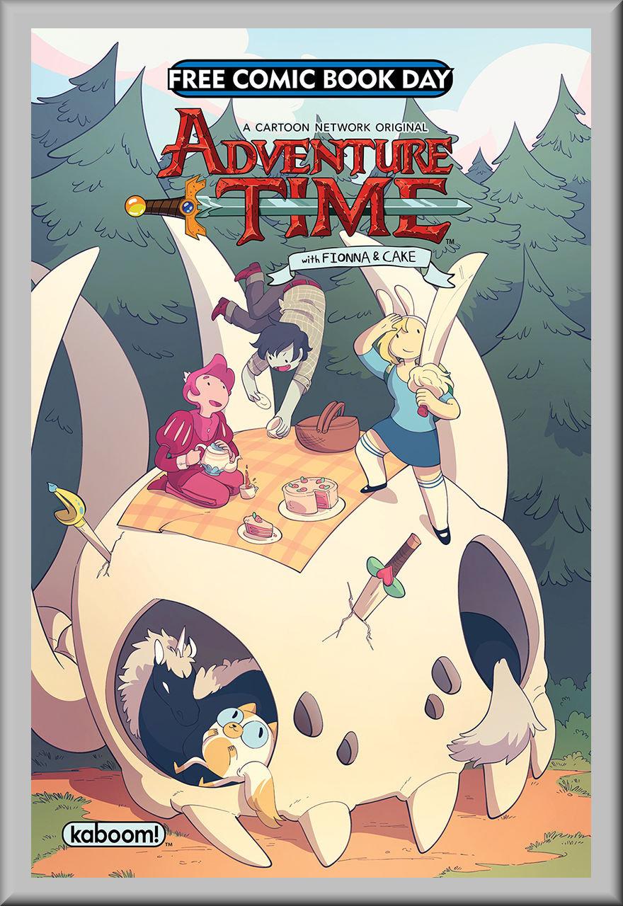 FCBD 2018 BOOM Adventure Time: Fionna & Cake Special (BOOM!)