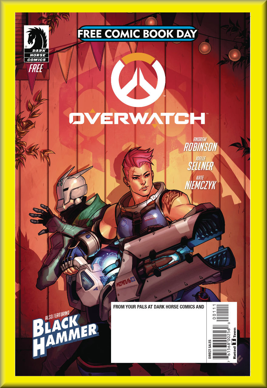 FCBD 2018 Overwatch & Black Hammer (Dark Horse)