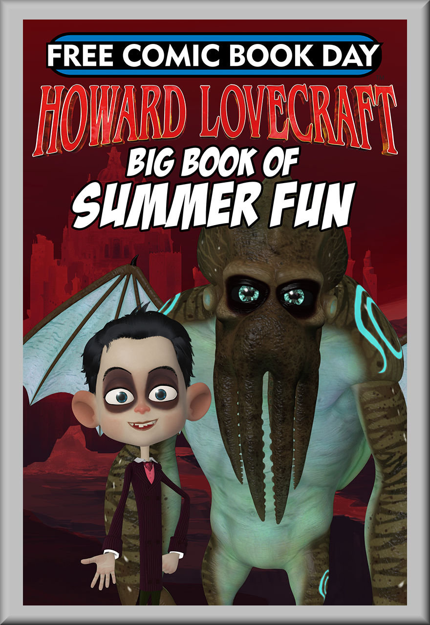 FCBD 2018 Howard Lovecraft's Big Book of Summer Fun (Arcana)