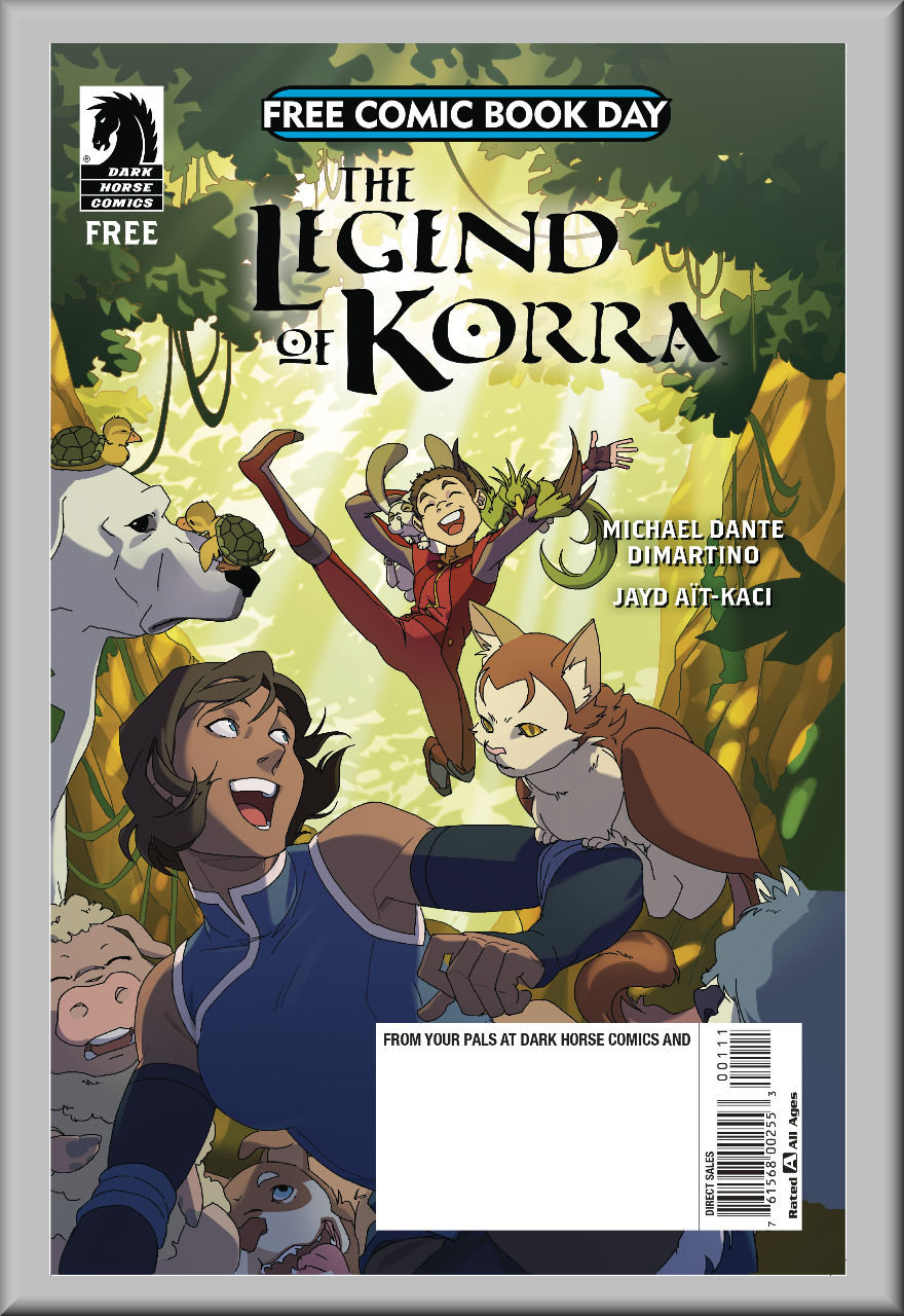 FCBD 2018 Legend of Korra & Nintendo Arms (Dark Horse)