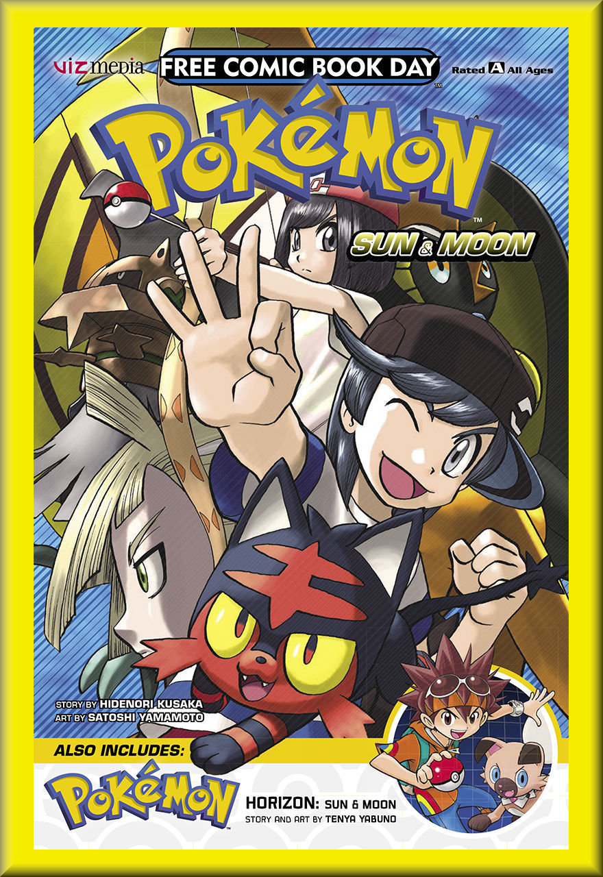 FCBD 2018 Pokemon Sun & Moon & Horizon (Viz Media)