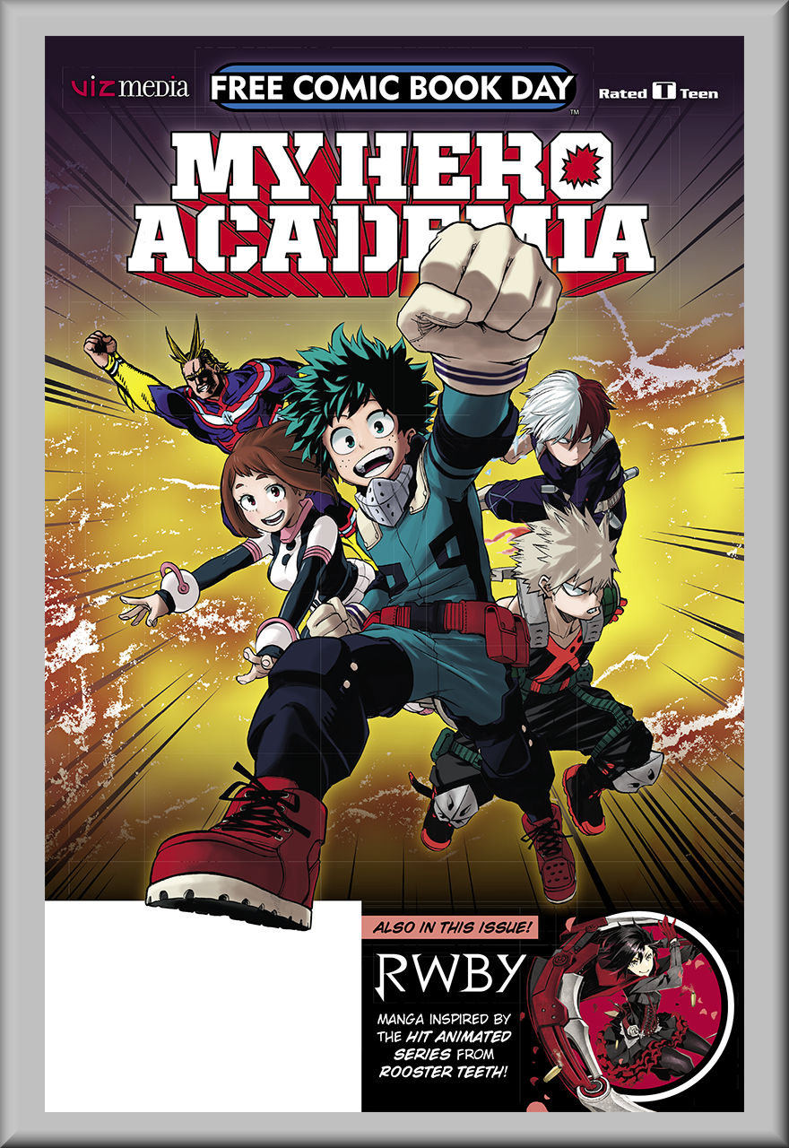 FCBD 2018 My Hero Academia & RWBY (Viz Media)