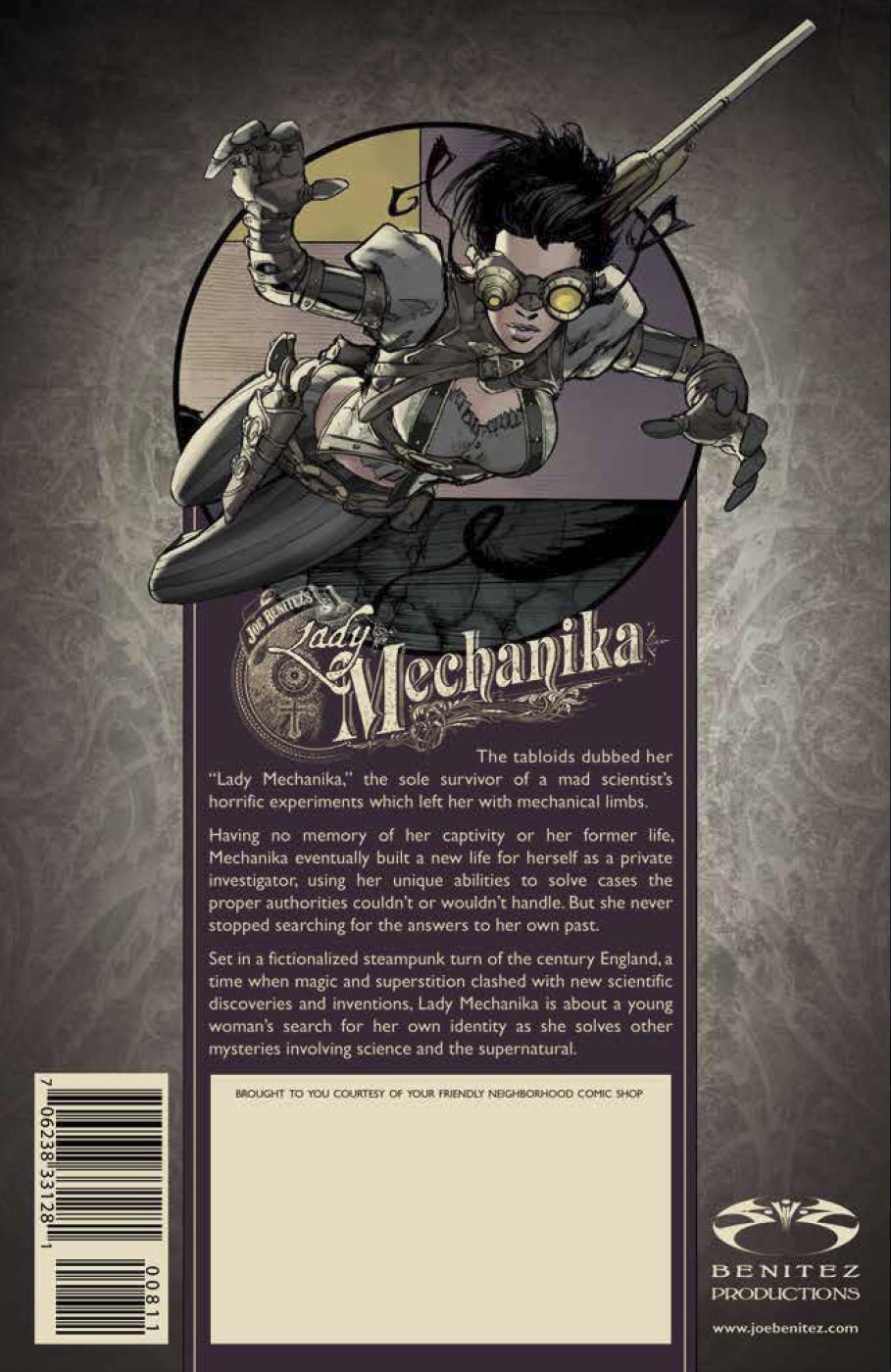 FCBD 2018 Lady Mechanika - Preview 5.