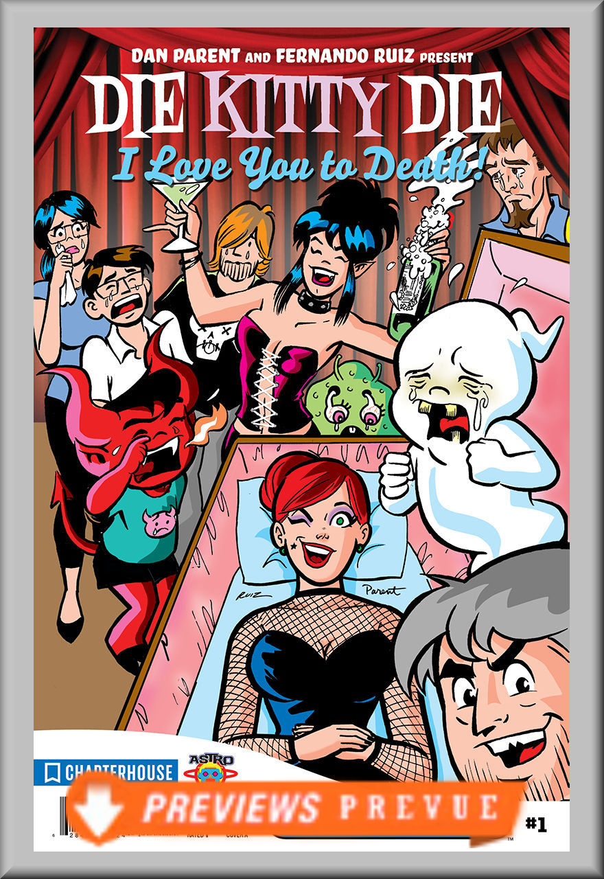 FCBD 2018 Die Kitty Die: I Love You To Death (Chapterhouse)