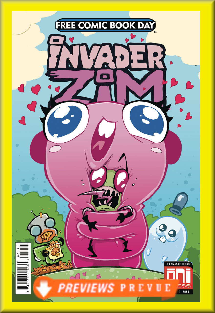 FCBD 2018 Invader Zim: Floopsy Bloops Shmoopsy (Oni Press)