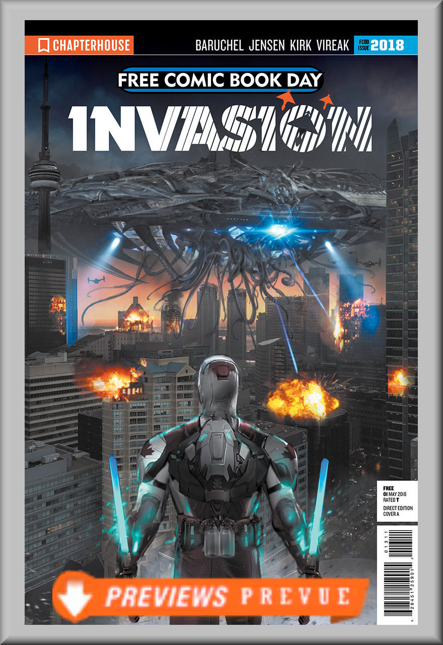 FCBD 2018 Invasion (Chapterhouse)