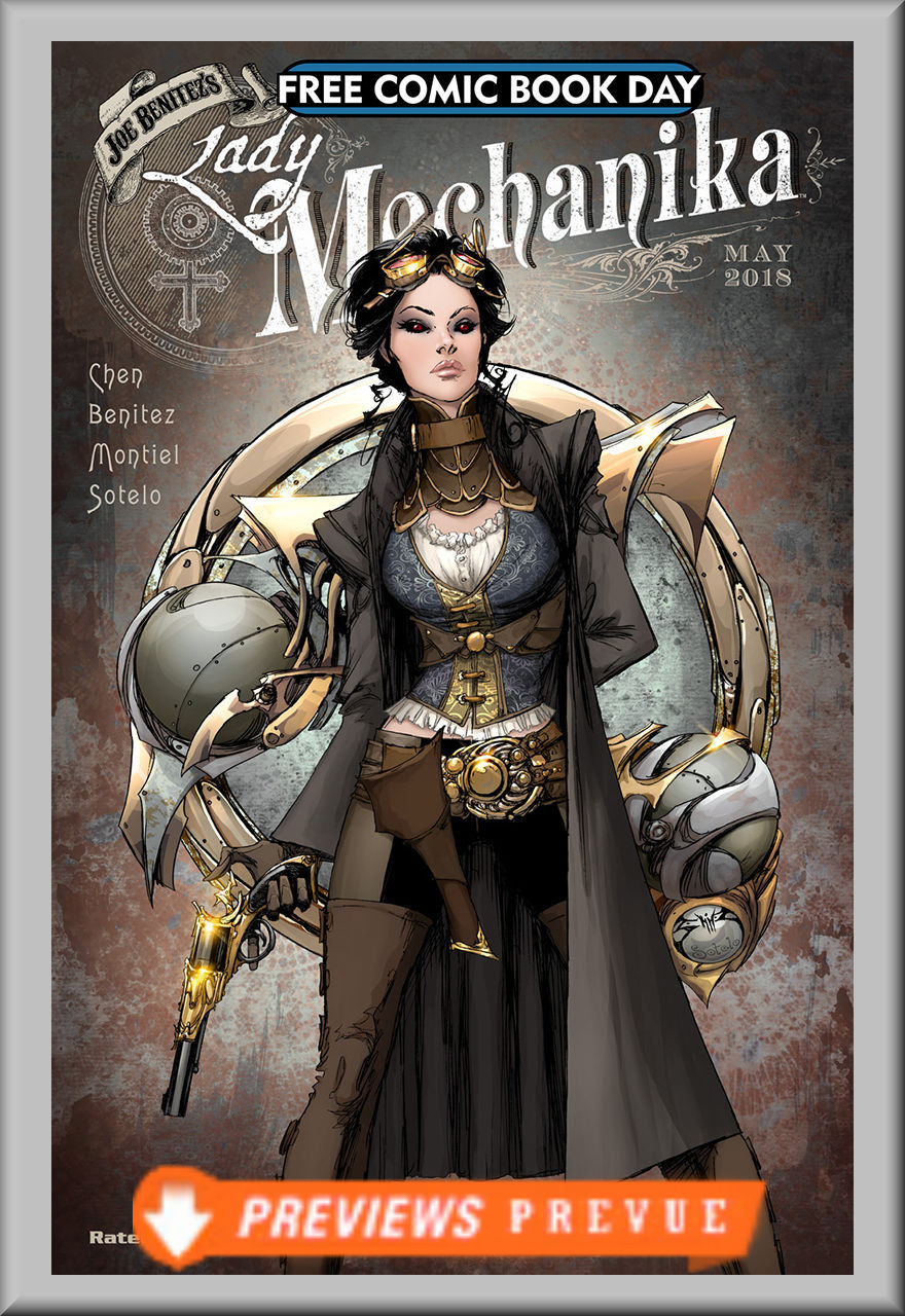 FCBD 2018 Lady Mechanika (Benitez Productions)