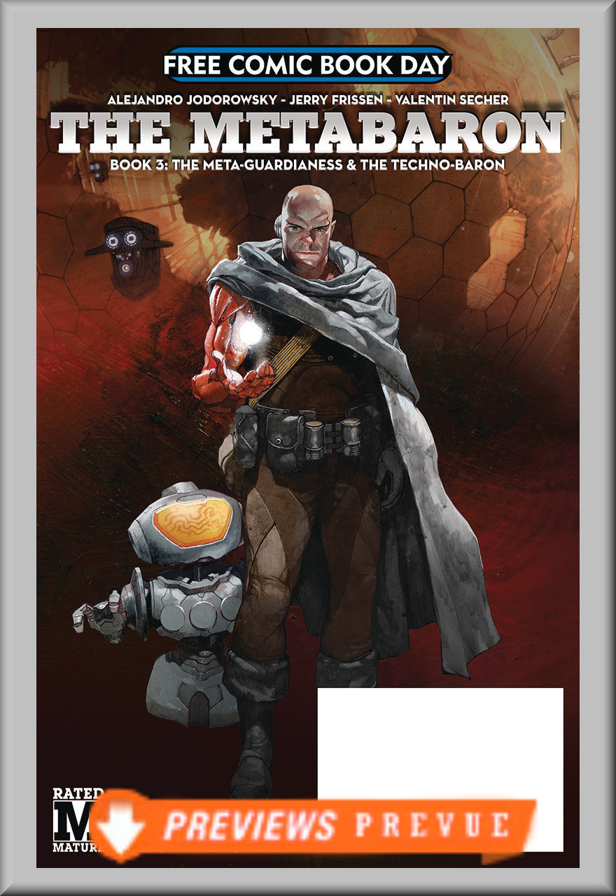 FCBD 2018 Metabaron: Meta-Guardianess and Techno-Baron (Humanoids)