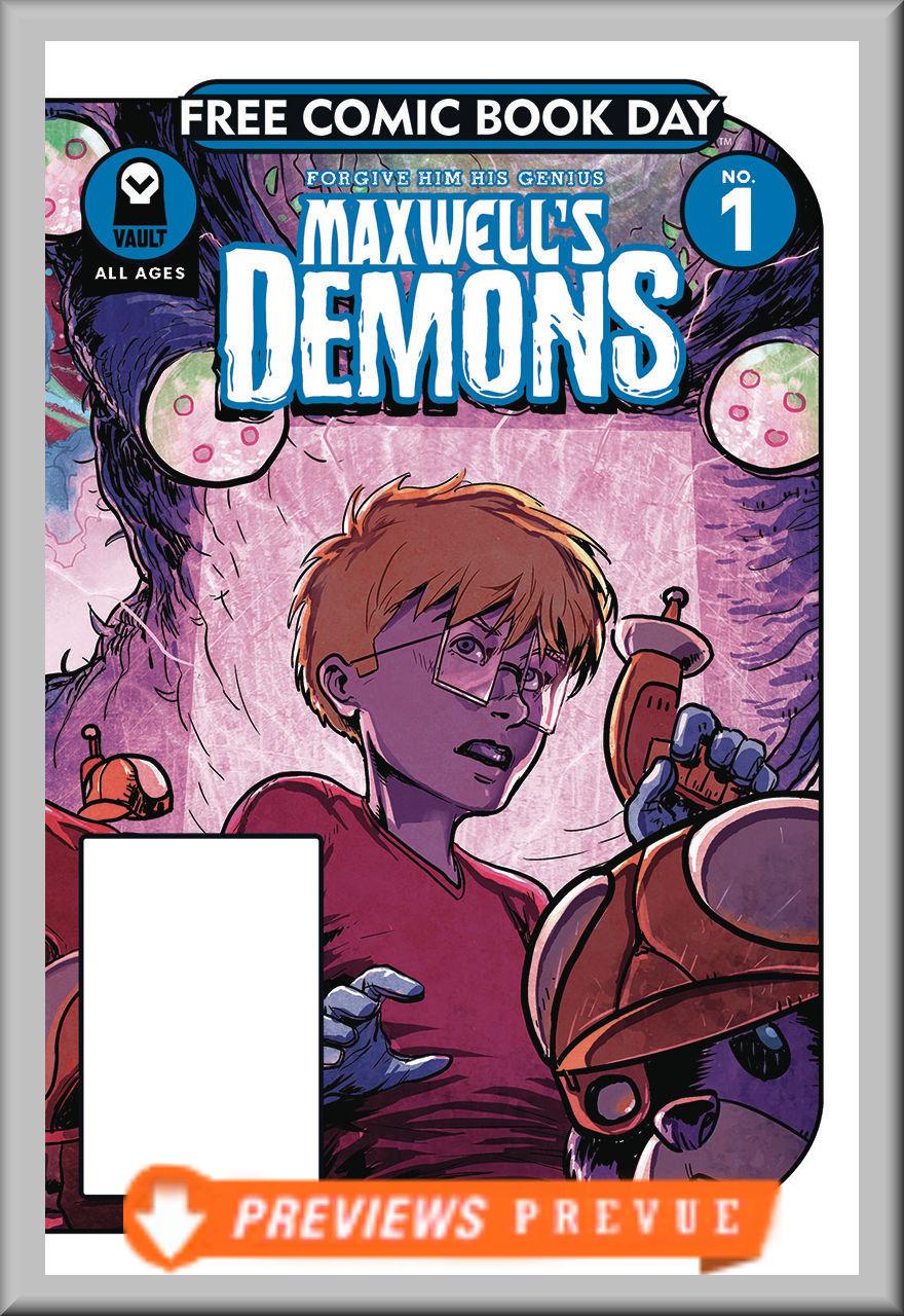 FCBD 2018 Maxwell's Demons #1 (Vault)