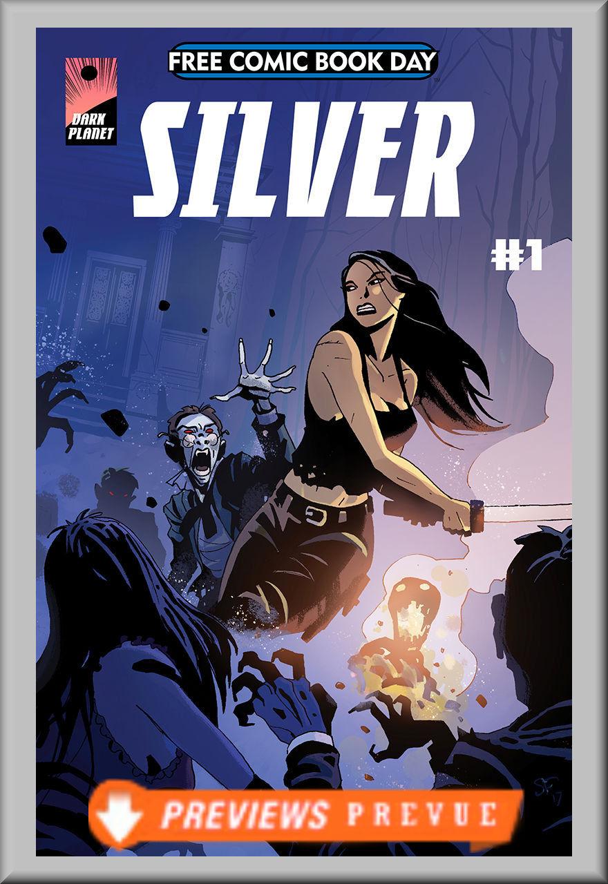 FCBD 2018 Silver (Dark Planet)