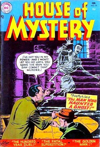 House of Mystery (1951) #35, cover by Jim Mooney.