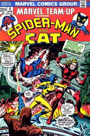 Marvel Team-Up (1972) #8, cover by Jim Mooney.
