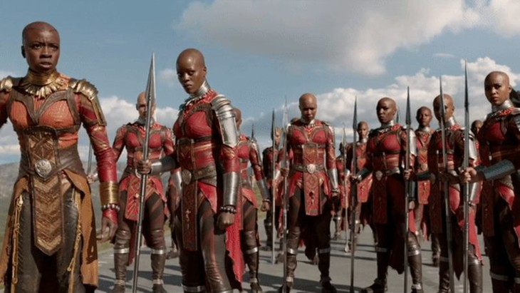 The Royal Guard of Wakanda.