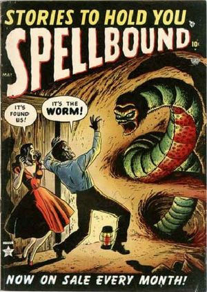 Spellbound (1952) #3, cover by Russ Heath.