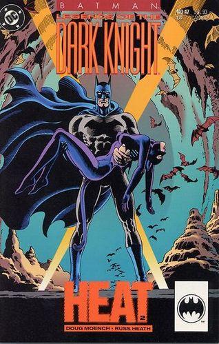 Batman: Legends Of The Dark Knight (1989) #47, cover by Russ Heath.